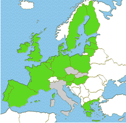 EU Member States covered in the survey